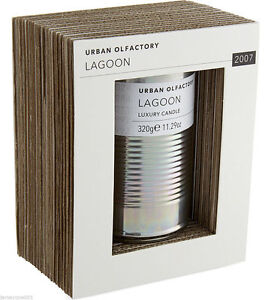 Urban Olfactory Lagoon 2007 Luxury Candle 320g Brand New in Packet RRP £50