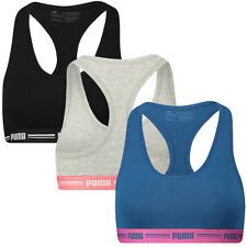 PUMA Women's Racerback Comfort Control Bra/Gym Top - Available in 3 Colours
