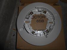 """New listing Fenwal 6Sb 70-400001-100 Fire Alarm 6"""" Smoke Thermal Detector Base Nib!"""