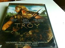 Troy DVD 2-Disc Widescreen Edition   Pre-Owned  Free Shipping