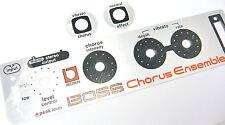 BOSS CE1 CE 1 Chorus Ensemble Aluminum Brand Logo Badge New Vintage FX Roland