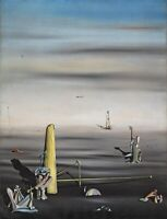 "YVES TANGUI Poster or Canvas Print ""The Sun in It's Jewel Case"""