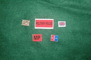 1/6 scale British Royal Military Police Patch lot