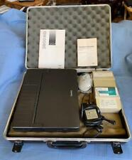 New listing Vintage Tandy 3800 Hd Laptop, Power Supply, Track ball, watch video