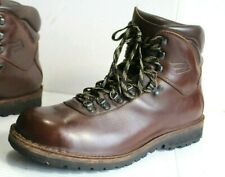 "Esatto Classic Hiker Men's 6"" Steel Shank Work Boots. Size 11 D Made in USA"