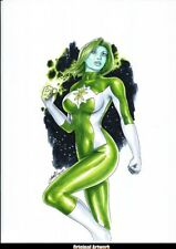 DC Comics JADE Original Art GREEN LANTERN OUTSIDERS JUSTICE LEAGUE SOCIETY RING