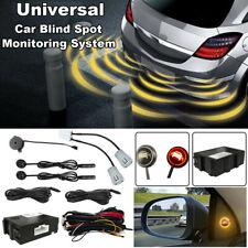 Car Blind Spot Monitoring System Ultrasonic Sensor Lane Change Reversing BSD