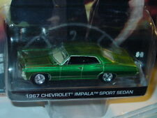 Greenlight SUPERNATURAL 1967 CHEVY IMPALA HOLLYWOOD SERIES Green Machine CHASE!