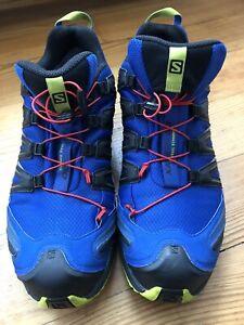 Salomon XA Pro 3D Herren Schuhe Dunkel Blau/ Größe 46