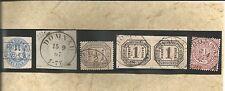 Preussen V. / DOMNAU Ra2 auf Pr. 17a, K2 1867 a. Blanko-Briefstück, K2 auf NDP D