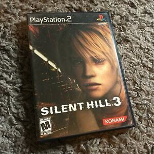 Silent Hill 3 PS2 2003 Complete, With Soundtrack