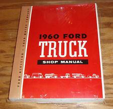 1960 Ford Truck Shop Service Manual 60 Pickup F100 F250