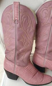 KENNY ROGER Signature Ladies Cowboy - cowgirl pink/rose Size 8