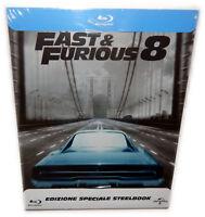 Fast & (and) the Furious 8 [Blu-Ray] lim. Steelbook, Vin Diesel, Deutsch(er) Ton