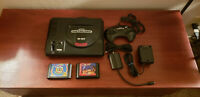 Sega Genesis Launch Edition Black Console + Aladdin & Tiny Toons