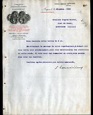 "ANGERS (49) ARDOISIERES / ARDOISES DALLES ""G. LARIVIERE"" en 1909"