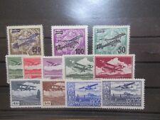 S197/7402 TSCHECHOSLOWAKEI CSSR Flugpost 199-01  + 303-10 x