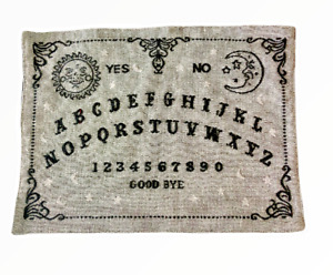 """Halloween Placemats 13x18"""" Set of 4 Tapestry Ouija Board Spooky Plachette Gray"""