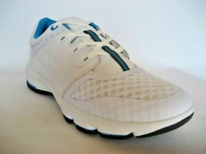 NEW Henselite Metro 54 White Mens Lawn Bowls Shoes HALF PRICE only $64.50