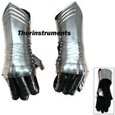 Armor Medieval Knight Gauntlets Carbon Steel Armor Gloves