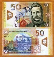 Czechoslovakia, 50 Korun, 2019, Private issue Polymer, UNC > Commemorative
