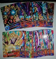 Carte DBZ Dragon Ball Heroes God Mission Part 7 HGD7 #Rare / Regular Set 2016