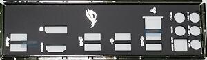ASUS I/O IO SHIELD BLENDE BRACKET STRIX B350-F GAMING, ROG STRIX B350-F GAMING