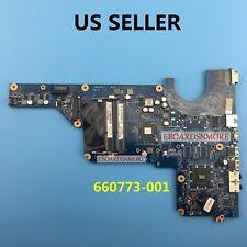 660773-001 Amd Motherboard for Hp G4 G6 G7 Laptops, E450 Cpu, Da0R24Mb6G0, Us A