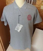 SCAPA SPORTS Herren Poloshirt 1/2 Arm in grau Gr. L UVP 89,90€