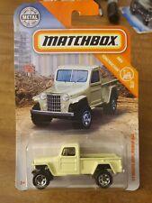 2020 Matchbox 51 Willys Jeep Pickup
