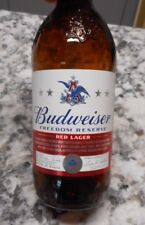 Budweiser Limited Edition Freedom Reserve Red Lager Glass Bottle Beer 12 oz
