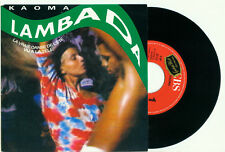 KAOMA Lambada / Lambada (Instrumental) 1989 HOLLAND PS NEAR MINT VINYL SINGLE 7""