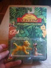 Lion King Collectible Figures Young Simba & Timon - Vintage 1994 Disney - NEW