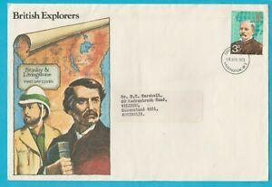 UK British Explorers FDC 1973 Posted to Australia XL