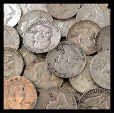 Franklin Silver Half Dollar Good - Fine - One Random Coin From Estate Lot