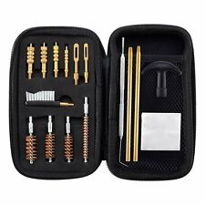 9mm .22 .38 .45 .140 .357Cal Pistol Cleaning Kit with Cleaning Rod Brushes Jags