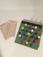 VINTAGE Golf T Checkers Table Top Game R Peek