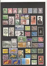 N°168 , 169   - IRLANDE -  ( 1922-1976 )  -  71  timbres oblitérés