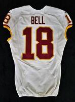 #18 Reggie Bell of Washington Redskins NFL Locker Room Game Issued Jersey