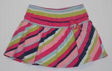 "Gymboree ""Smart & Sweet"" Flower Buckle Striped Twirl Skort/Skirt, 6"