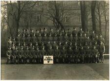 Orig. RIESEN Foto Portrait Soldaten m. Nachrichten Schild Kaserne DRESDEN 1941
