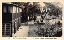 Real Photo Postcard Hotel at Camp Baldy, California~111389