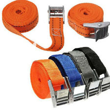 Tie Down Strap Strong ratchet Belt Luggage Bag Cargo Lashing With Metal Buckle