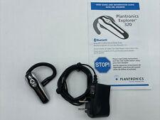 Plantronics Explorer 320 Bluetooth v1.2 Hands-Free Headset, Adaptor, User Manual