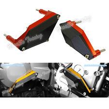 Rosso protezione carter motore sliders per YAMAHA FZ6R FZ6 XJ6 F/N/S Diversion