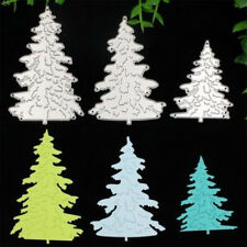 Christmas Tree Stencils DIY Cutting Dies Scrapbooking Diary punching template
