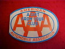 Aaa American Auto Club Association Needle Book - Made In Western Germany