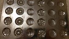 Pastilles Flat Flache Giessform Chocolate mold Antique Vintage
