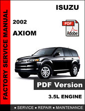 automotive pdf manual ebay stores rh ebay com 2002 isuzu axiom service manual free 2002 isuzu axiom owners manual
