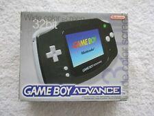 NINTENDO GAME BOY - ADVANCE BLACK (BOXED)